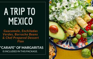 Margaritas Dinner For Two