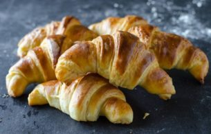Flaky Butter Croissants 2