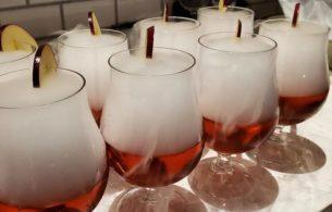 Apple Halloween Cocktails