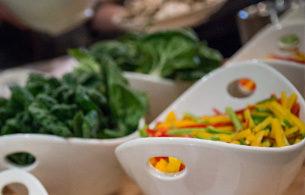 Chopped Veggies Bowl