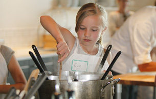Kids Girl Cooking