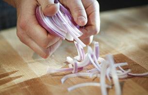 Cut Onion Tumble