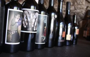 Orin Swift Lineup On Tasting Counter