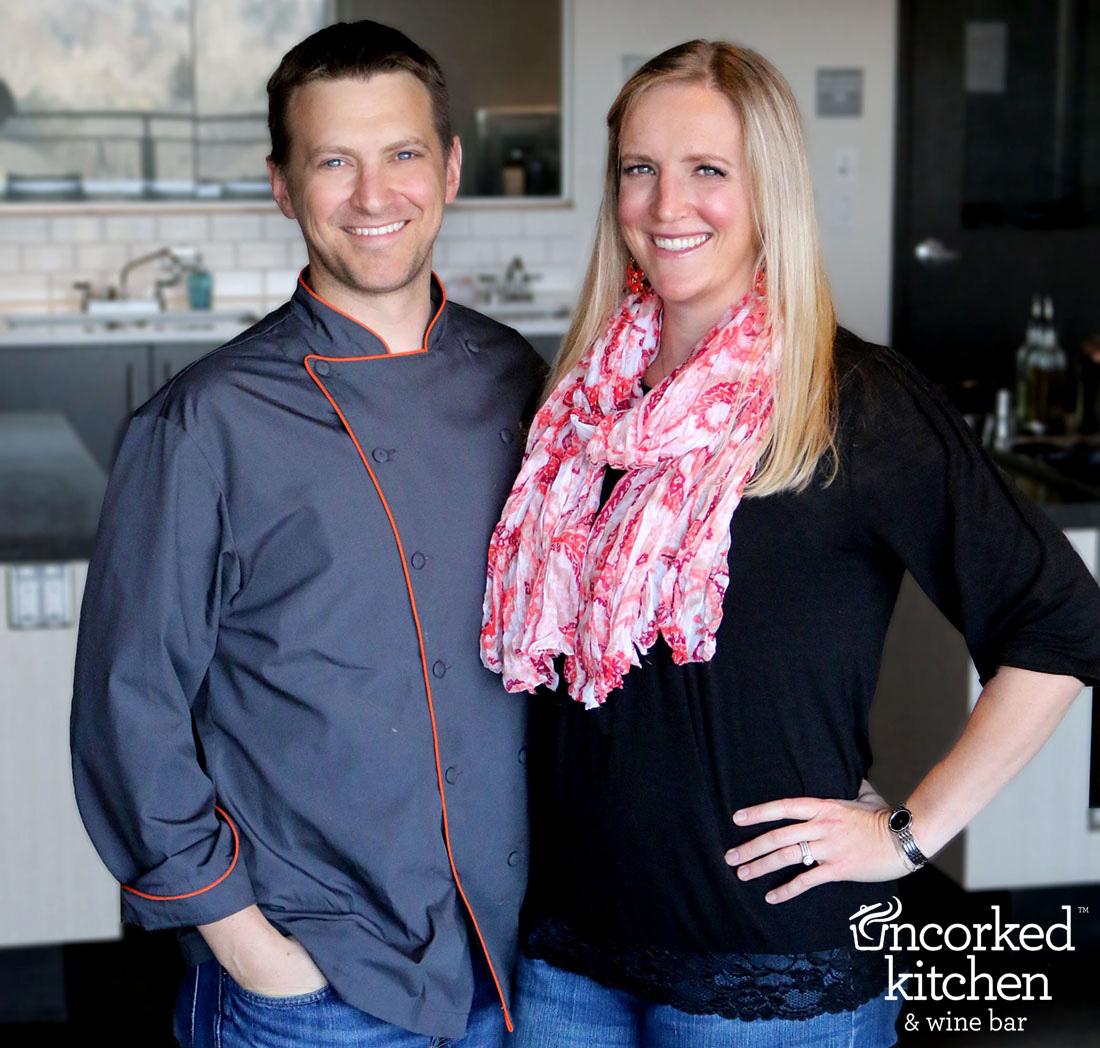 Eric & Katie, Co-Owners & Founders of Uncorked Kitchen Denver